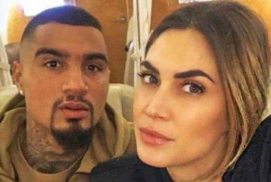 Kevin Prince Boateng marito Melissa Satta    un grande dolore nella sua vita