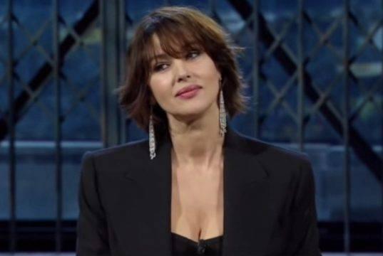 """Dominelli su Monica Bellucci a Sanremo: """"Ecco perché ha dett"""
