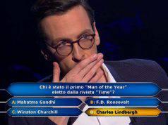 Enrico Remigi punta al milione, Gerry Scotti legge la fatidica domanda