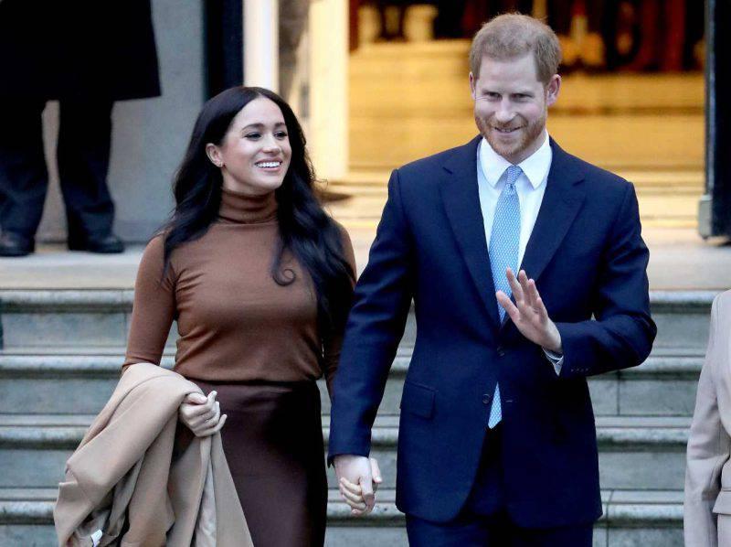 Il Principe Harry e Meghan Marple