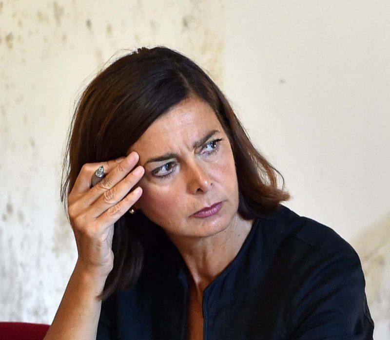 Laura Boldrini contro Amadeus