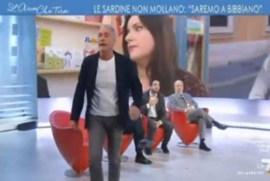 Massimo Giletti, che lite a 'L'aria che tira': il giornalist