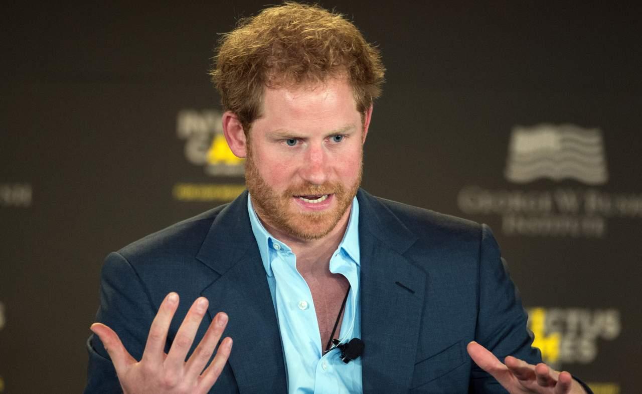 Il Principe Harry sta male