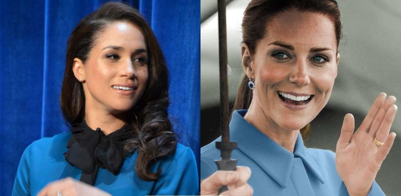 Kate Middleton messaggio segreto per Meghan Markle