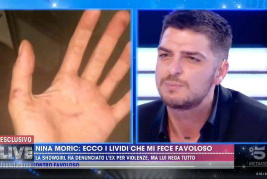 """Luigi Favoloso violento su Nina Moric? """"Ho dovuto difenderla"""