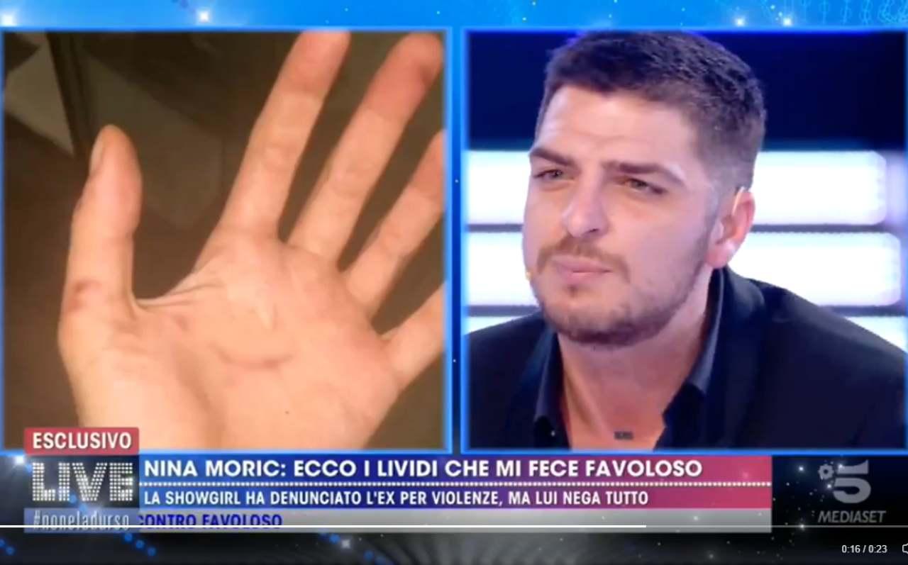 Luigi Favoloso violento su Nina Moric