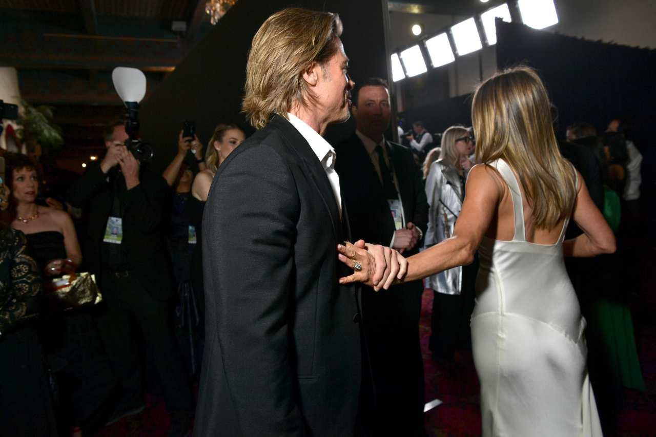 Brad Pitt e Jennifer Aniston di nuovo innamorati