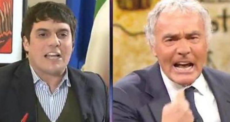 Massimo Giletti Furibondo lite trasmissione
