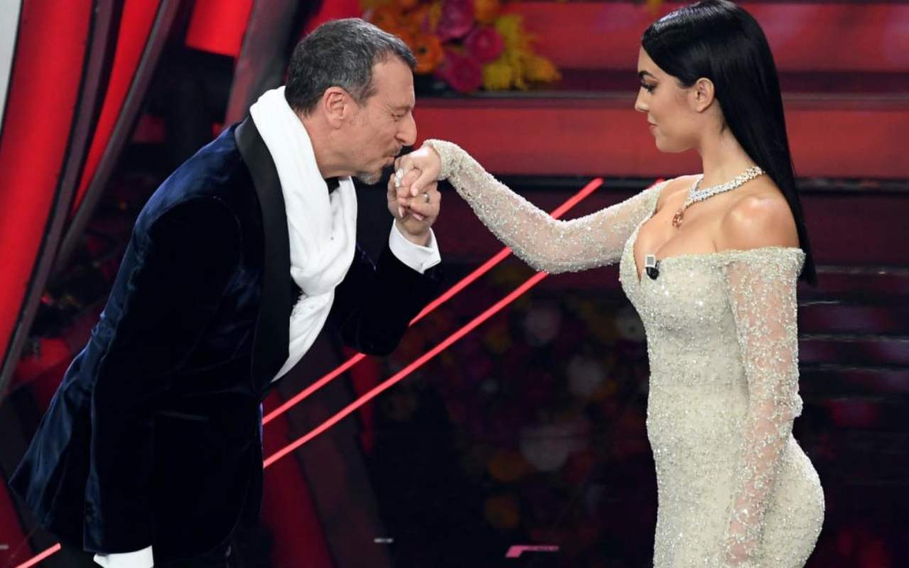 Georgina Rodriguez, cachet di Sanremo 2020 in beneficenza