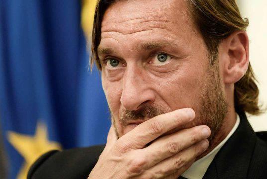 Francesco Totti: grande preoccupazione per il figlio Cristia