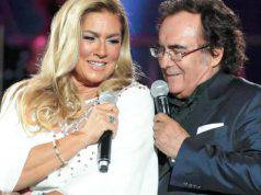 Romina Power e Albano stessa camera