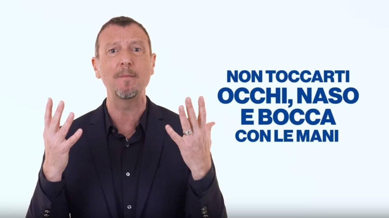 [VIDEO] Coronavirus, spot per Ministero Salute con Amadeus