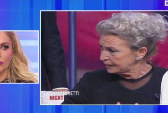 Barbara Alberti vs Francesca Cipriani: scontro annullato, co