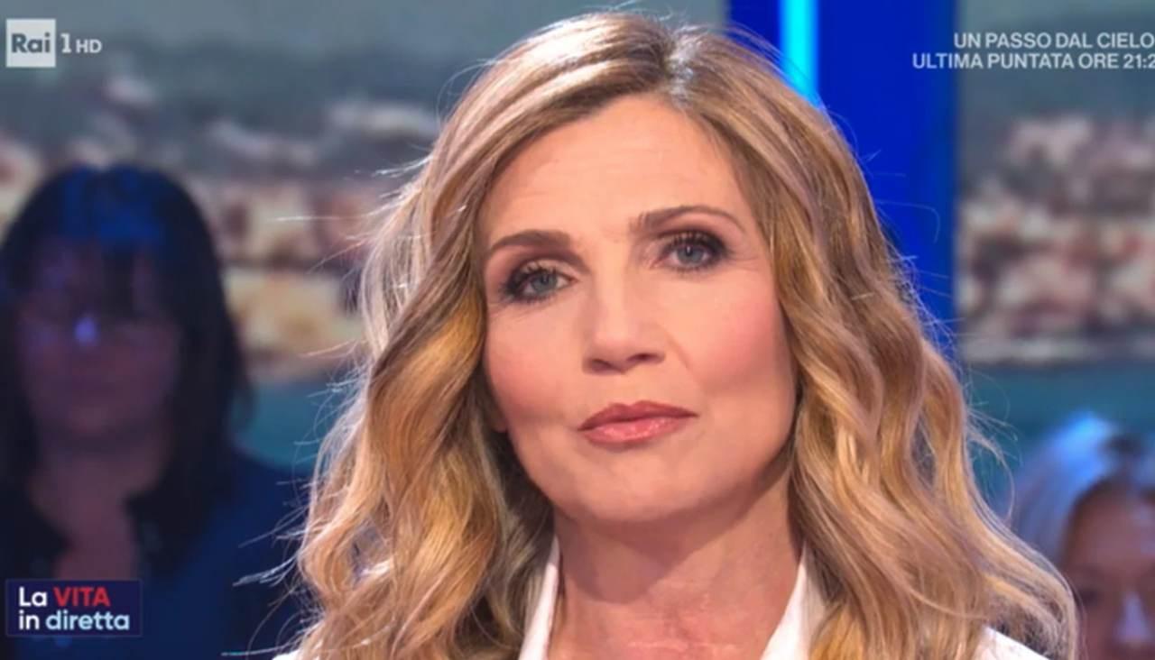 Lorella Cuccarini Vita in diretta