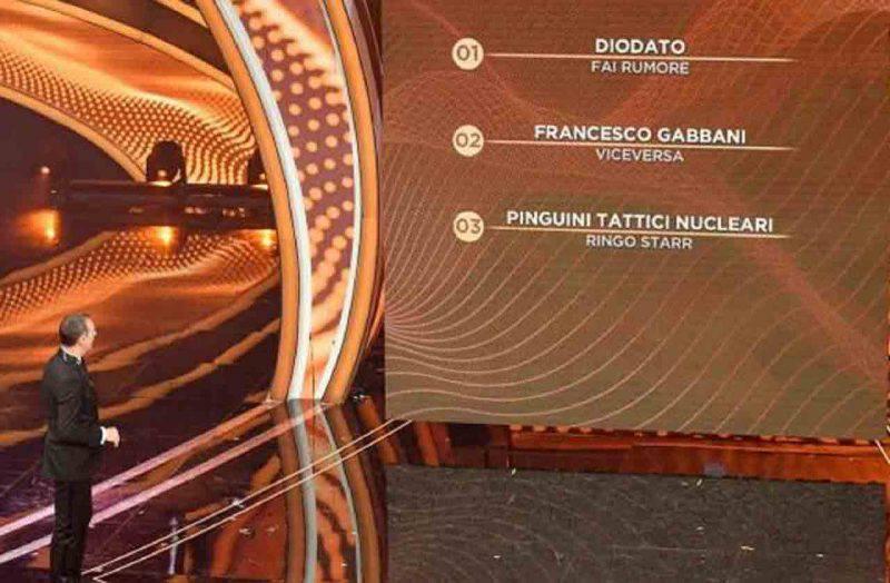 i 3 finalisti di Sanremo 2020