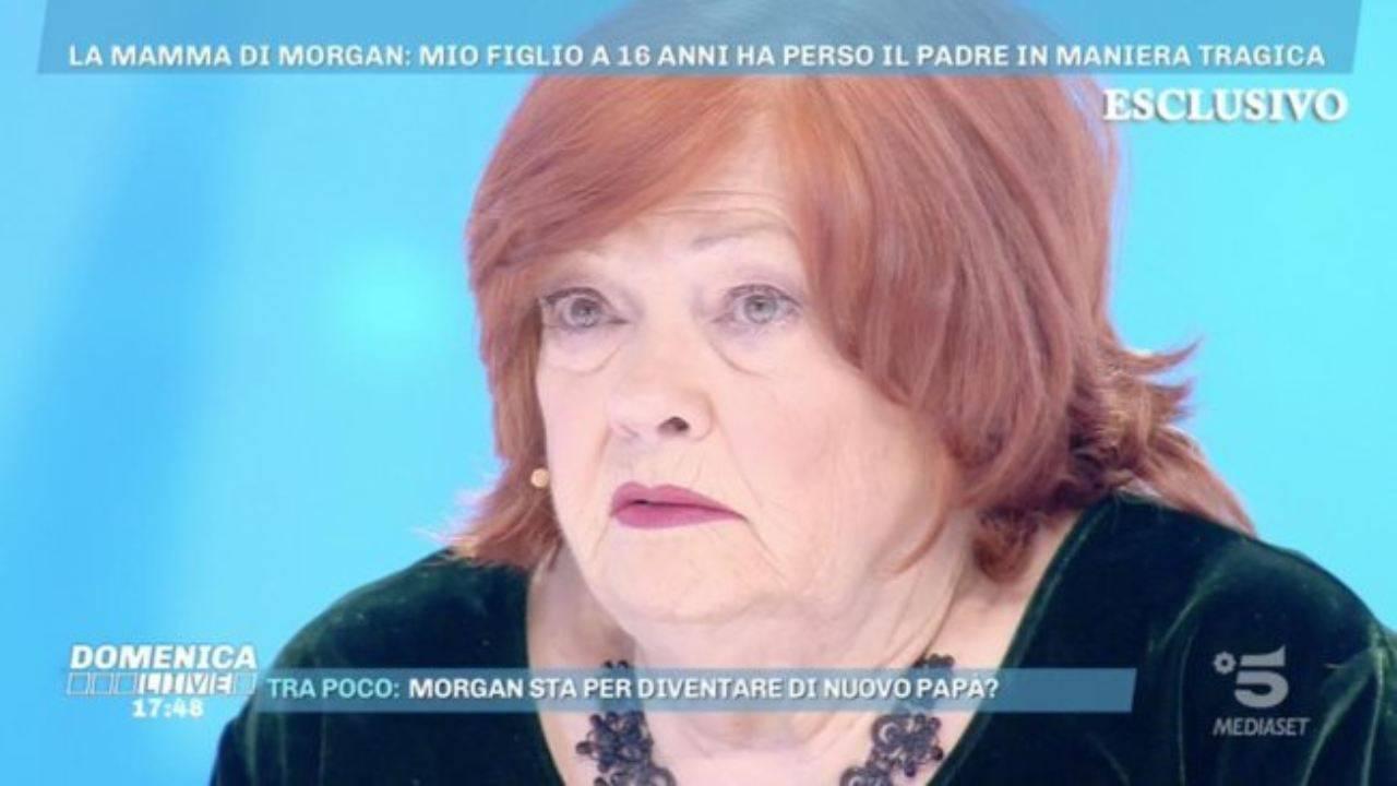 Luciana Castoldi mamma Morgan