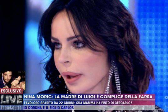 Nina Moric: macchina della verità per lei a Live non è la d'