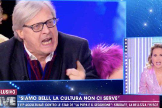 Vittorio Sgarbi, la lite con Barbara D'Urso gli costa caro