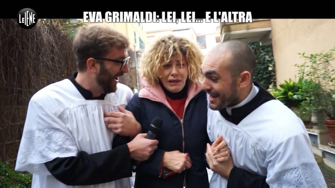 Eva Grimaldi Imma Battaglia