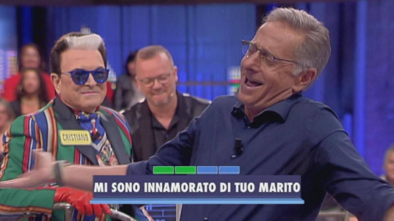 Paolo Bonolis Malgioglio diretta Instagram