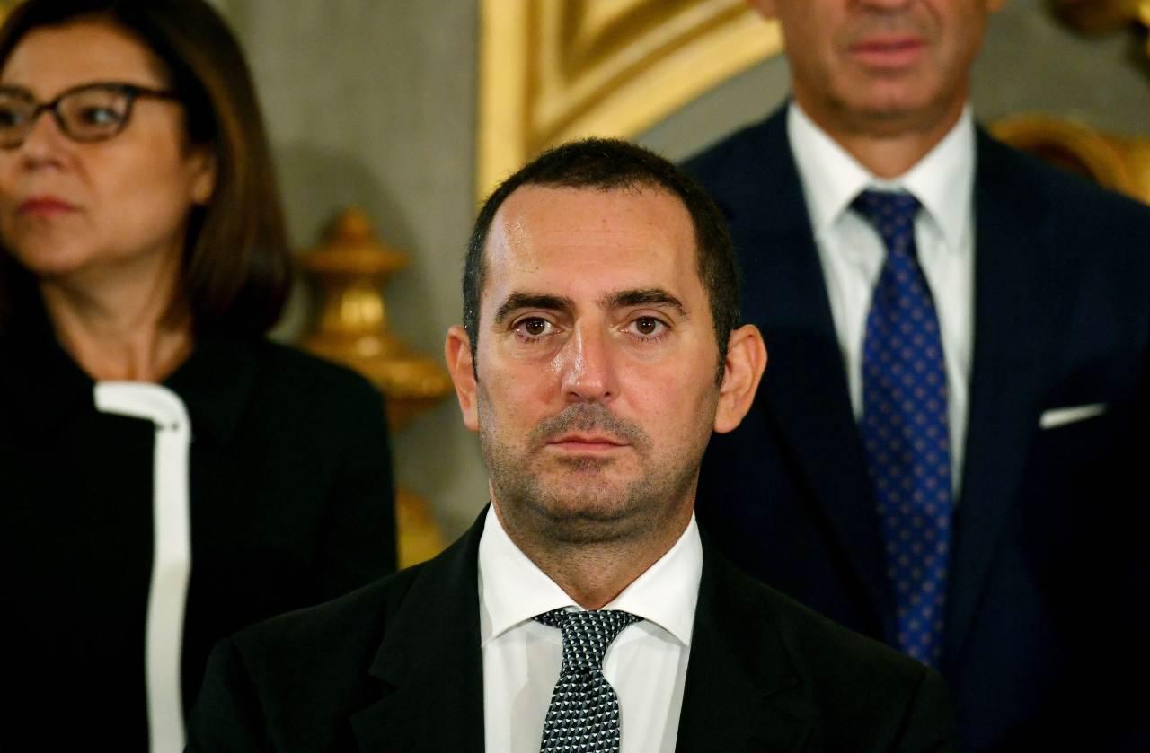 ministro Vincenzo Spadafora moglie