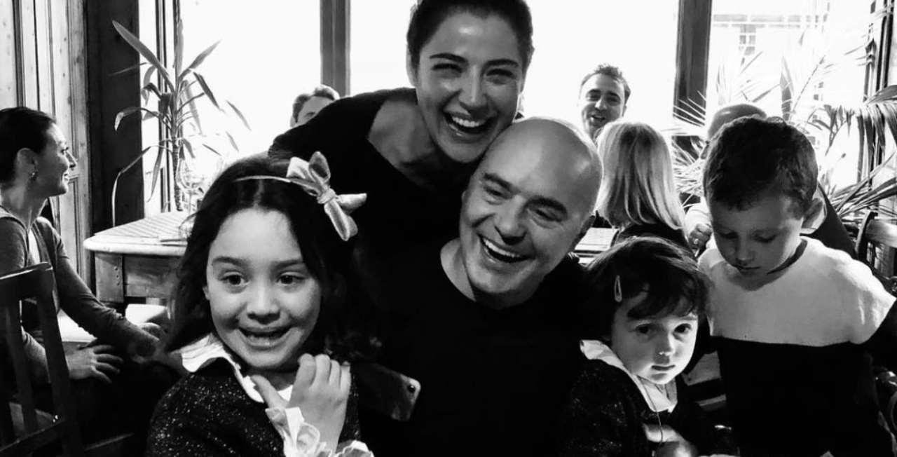 Luca Zingaretti e famiglia