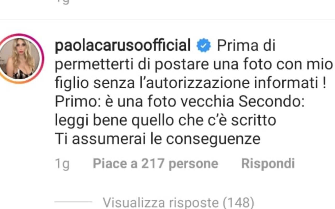 Selvaggia Lucarelli contro Paola Caruso
