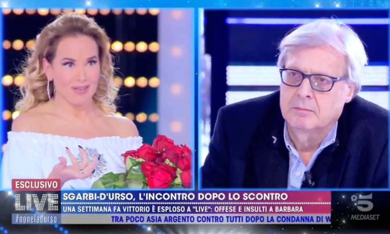 Live non è la d'Urso: perché Sgarbi chiederà scusa a Barbara