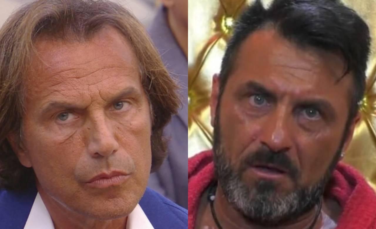 Antonio Zequila duro scontro con Sossio Aruta