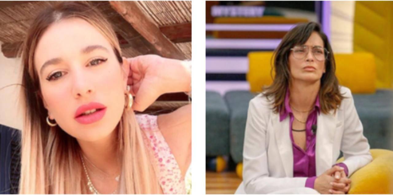 GF vip Fernanda Clizia
