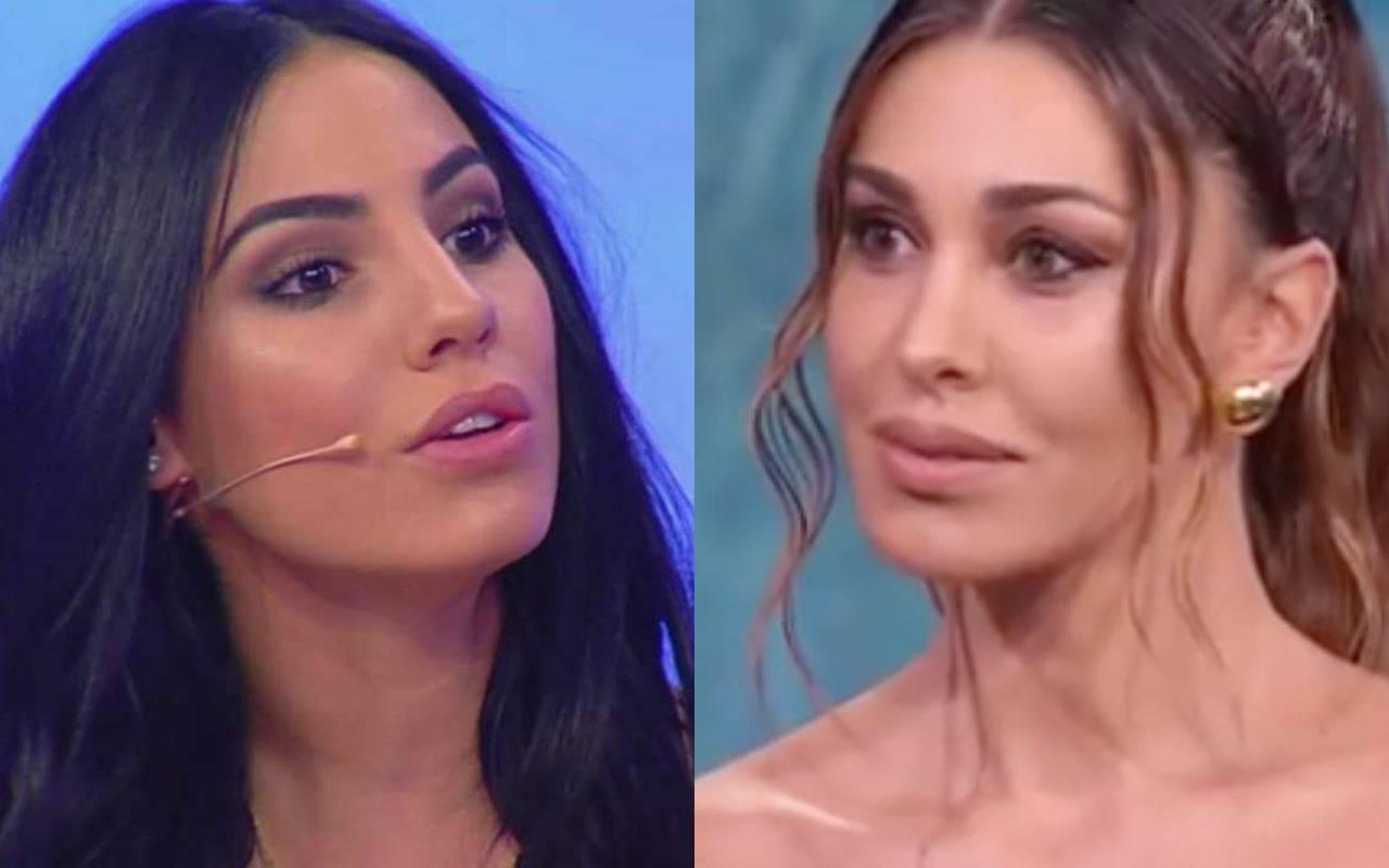 Giulia De Lellis imita Belen Rodriguez: