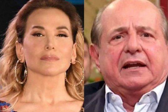 Giancarlo Magalli contro Barbara D'Urso: scontro totale