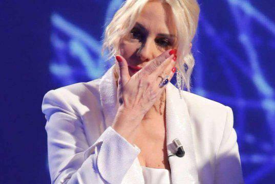 Antonella Clerici, lacrime in diretta: impossibile trattenere il pianto