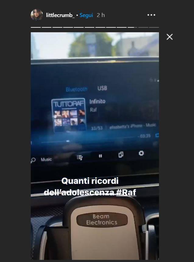 elisabetta canalis storia instagram