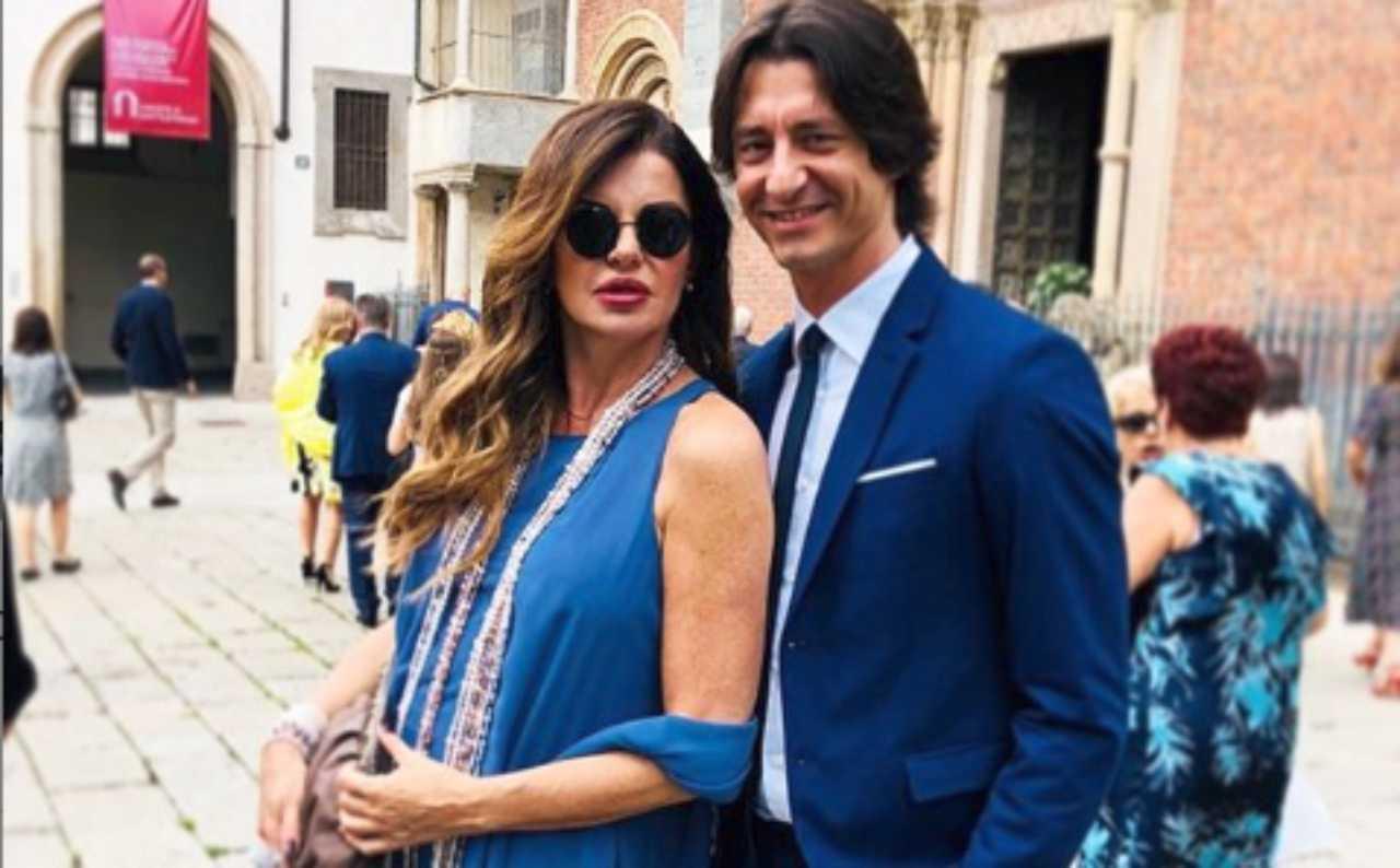 Alba Parietti Francesco Oppini