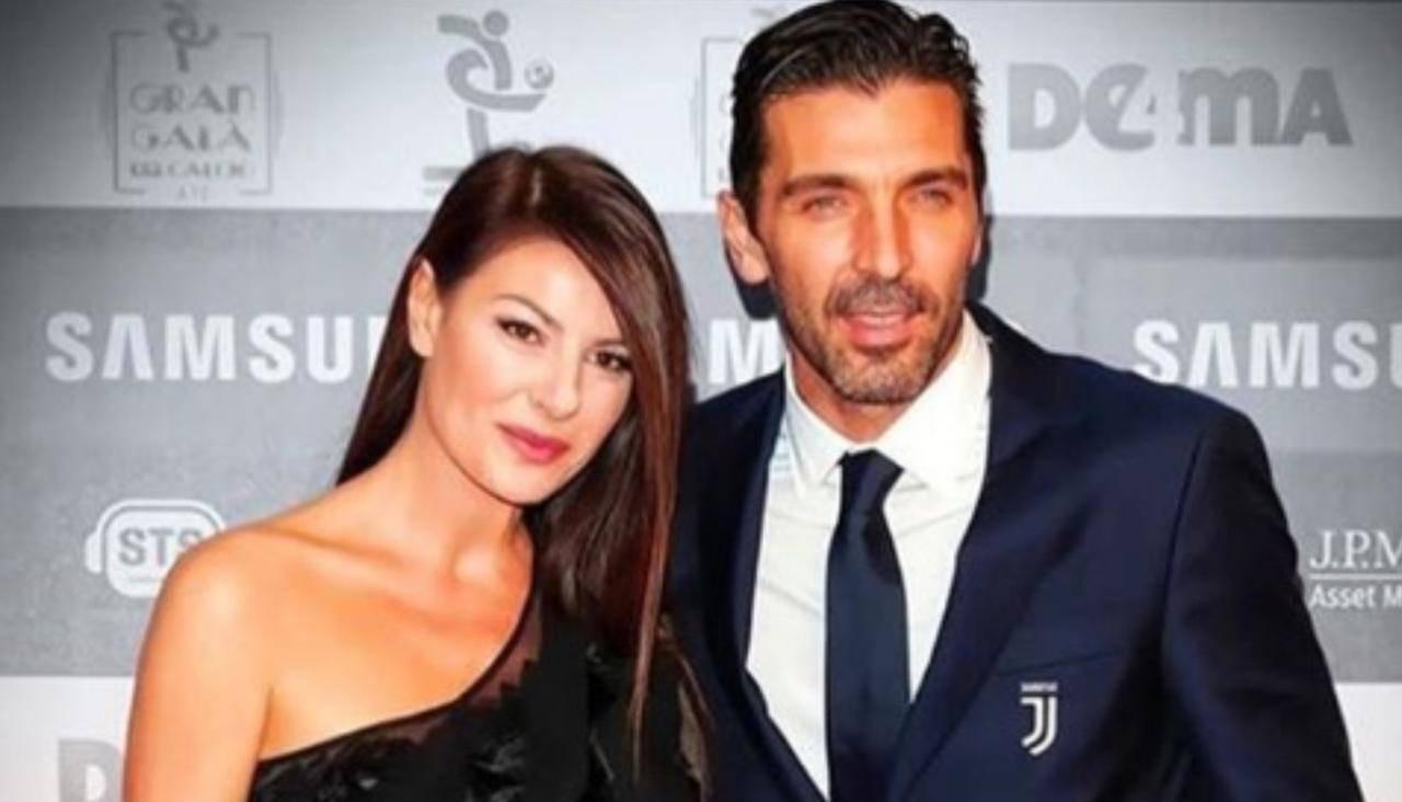 Ilaria D'amico Gigi Buffon famiglia
