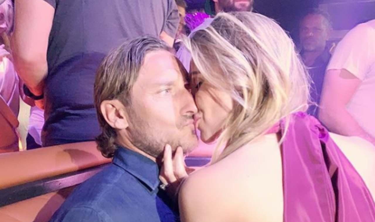 Francesco Totti Ilary Blasi matrimonioInstagram
