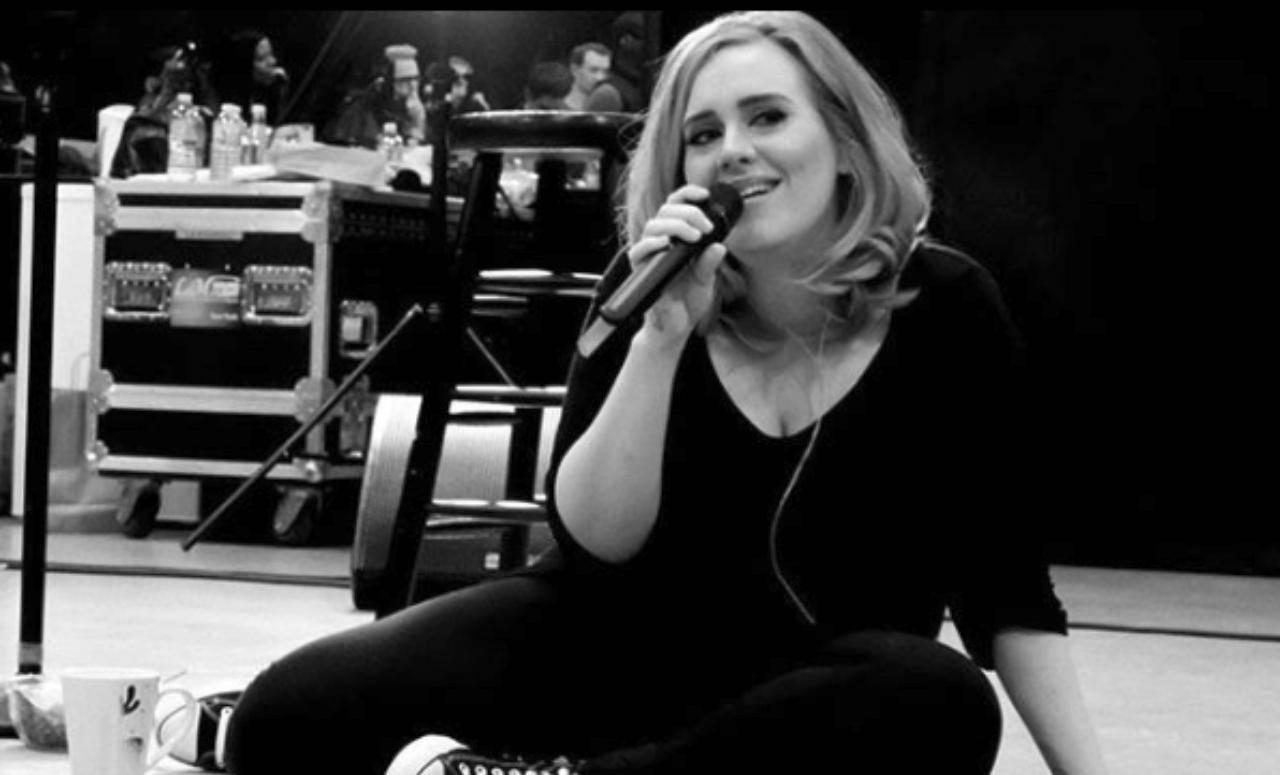 Adele magra foto