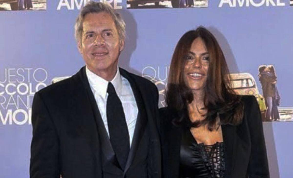 Claudio Baglioni Rossella Barattolo moglie