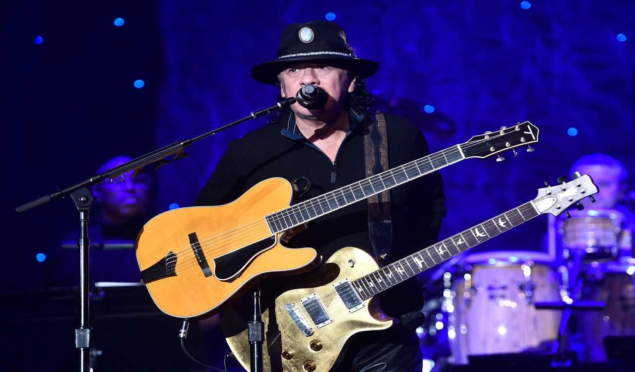 Lutto nel mondo della musica Carlos Santana