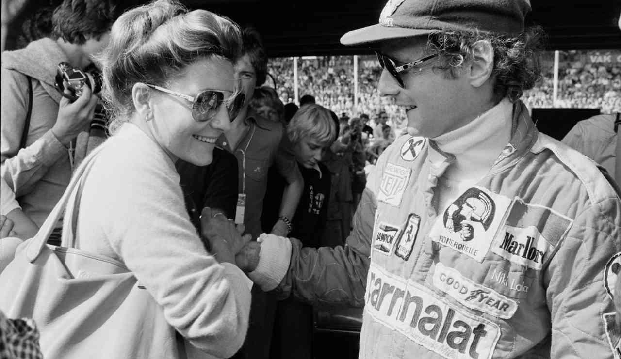 Marlene Knaus e Niki Lauda