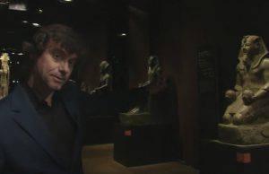 Alberto Angela al Museo Egizio