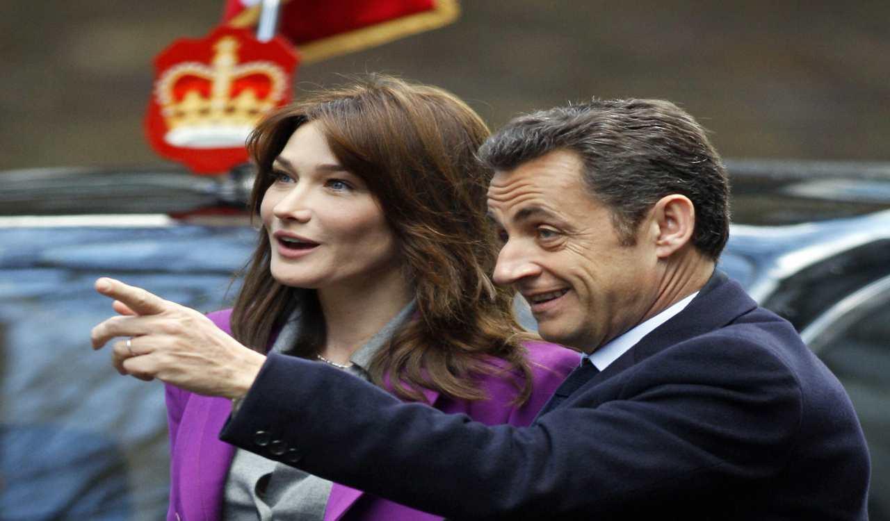 Nicolas Sarkozy marito Carla Bruni (1)