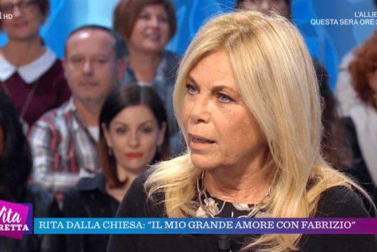 Fabrizio Frizzi ex marito Rita Dalla Chiesa, un amore che non finisce mai