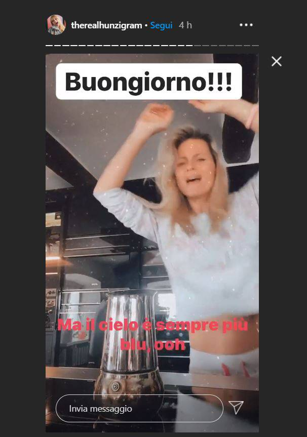 michelle hunziker balletto instagram