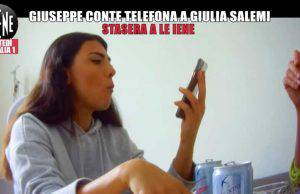 Giulia Salemi, scherzo Iene