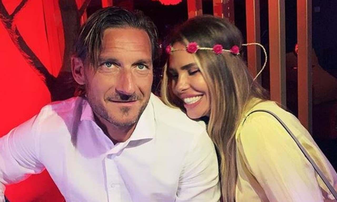 Francesco Totti Ilary Blasi matrimonio