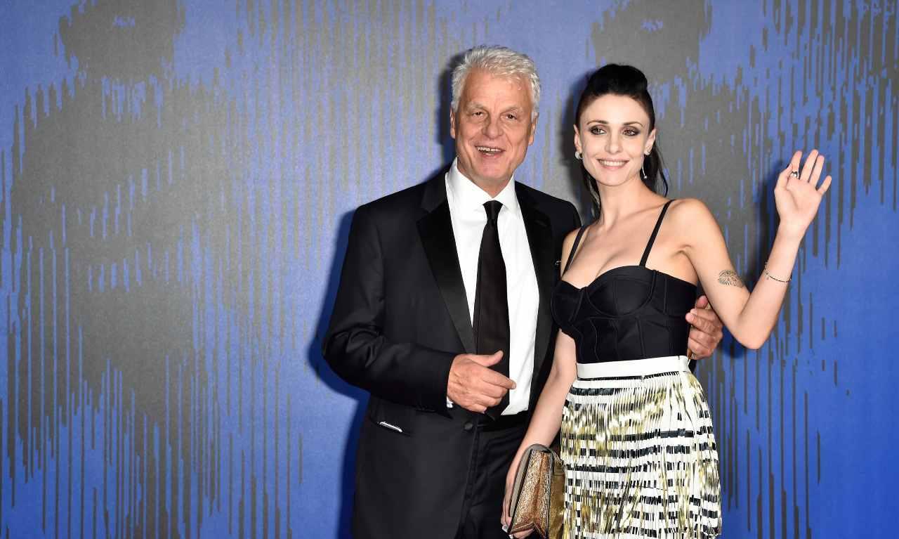 Federica Vincenti moglie Michele Placido