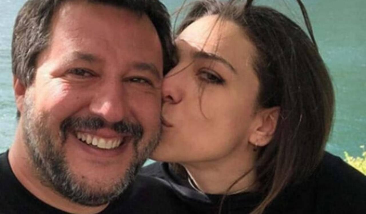 Francesca Verdini fidanzata Matteo Salvini: la differenza d'età è notevole