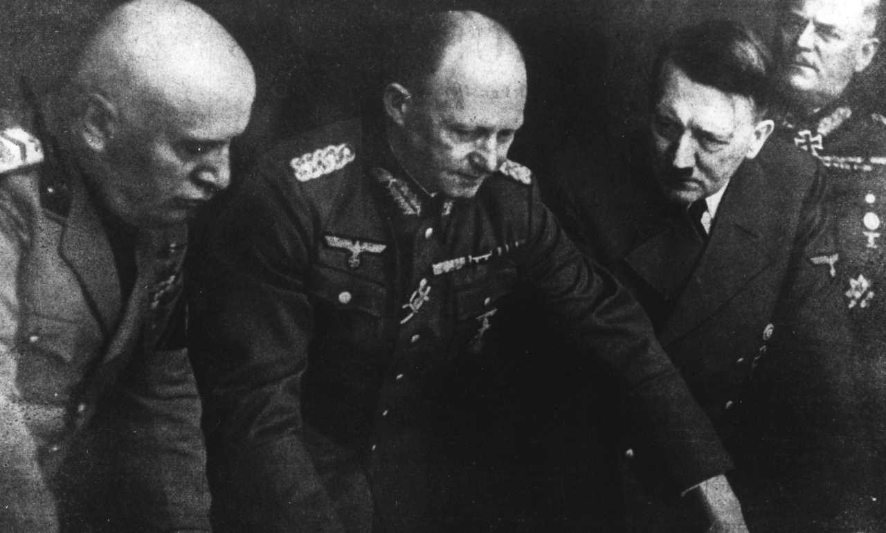 Il Duce e Hitler